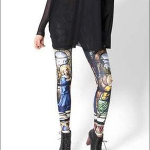 Blackmilk Cathedral Print Leggings Limited Edition